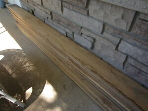 Rough sawn white oak lumber
