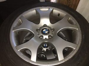BMW X5 rims and tires