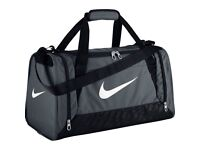 Nike gym bag grey size medium
