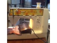 Singer starlet Sewing Machine in perfect Working order has been Serviced all the stitching perfect