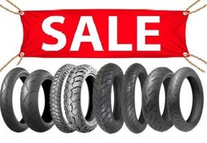 HUGE MOTORCYCLE TIRE SALE. Prices slashed!