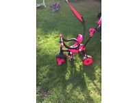 Girls little tikes trike 4 in one suitable. from9 monthsto 3 years +.