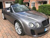 Bentley Continental 6.0 GTC 2dr MULLINER + SUPERSPORT STYLING