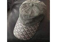 Goyard Grey Hat Cap Strapback New Vetements Palace Skateboards Supreme Stussy NYC Vintage store Nike