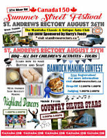 Canada 150 Summer Street Festival- St. Andrews Rectory