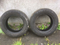 2x Acelere Apollo 195/65 R 15 91H winter tyres