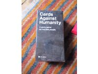 Cards Against Humanity plus 14 expansions
