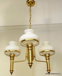 Antique Style Student Lamp Chandelier