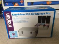 Maplin CD/DVD storage case. Unused and boxed.