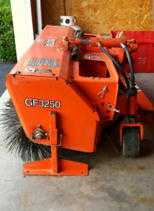 Kubota GF3250 Sweeper attachment