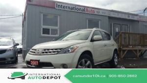 2007 Nissan Murano SE | LEATHER | BACK-UP CAM | MOONROOF