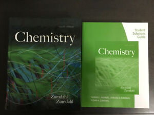 """Chemistry"" Textbook (9th ed) and Solution Manual by Zumdahl"