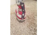 Converse all stars limited edition never worn size 6