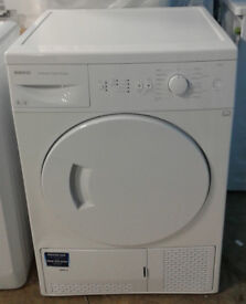 O495 white beko 8kg B rated condenser dryer comes with warranty can be delivered or collected