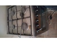 Oven with Gas Hob