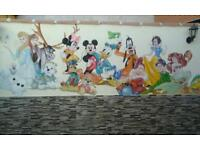 NURSERY MURALS / MURAL ART FOR KIDS/MURAL ARTIST