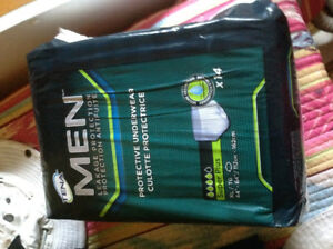"""Men's protective underwear.   Never opened size 44"""" X 64"""""""
