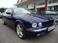 JAGUAR XJ 3.0 V6 SPORT 4d AUTO 240 BHP (blue) 2003