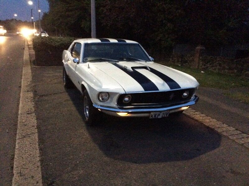 EXTREMELY RARE 1969 MUSTANG SHARK NOSE