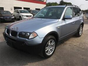 2006 BMW X3 2.5i AWD! Clean Title! Low Mileage! Leather Seats!