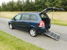 2012 12 Vauxhall Zafira Exclusive 1.8 WHEELCHAIR DISABLED ACCESSIBLE VEHICLE WAV