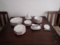 Dinner Service 8 Place setting, Matching Tea Set for 6