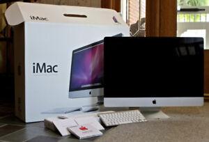 "iMac 27"" Sierra (photo & video)"