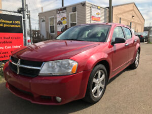 2008 DODGE AVENGER SXT WITH 172500 KMS ALLOY WHEELS TOUCHSCREEN