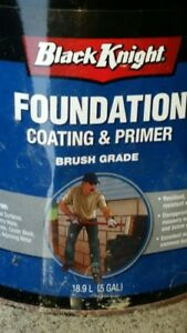 Foundation Sealer and or Tar