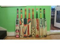 CRICKET BAT, ALL BRANDS AVAILABLE, THICK EDGE, SHORT HANDLE, ENGLISH WILLOW,CLEARANCE SALE
