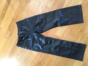 Woman's leather pants