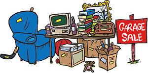 Multiple Family Garage Sale - Saturday August 19th 8am to noon