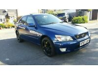 Lexus IS200 Sport 2.0 LSD *1 Year Mot a4 320i c200 avensis accord s3 m3 Supra Rx8 300zx Drift Track