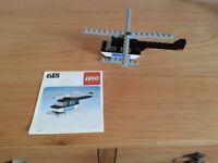 Vintage Lego Police Helicopter