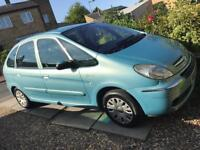 Citroen xsara Picasso 1.6 diesel , long mot! 2 owners from new! Tons of history!