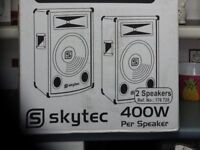 """TWO NEW 8""""speakers"""