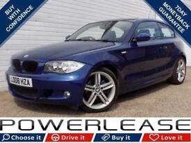 2008 08 BMW 1 SERIES 2.0 118I M SPORT 3D 141 BHP