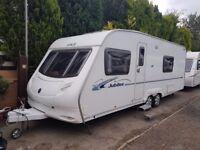 Ace Jubilee Viscount 4 Berth caravan FIXED BED, MOTOR MOVER, Bargain !!!