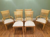6 Dining Room Table Chairs COST 540
