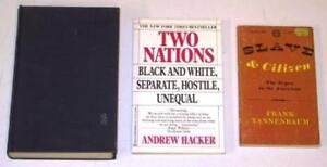 3 Book Lot - Sociology (Race Relations) (USED)
