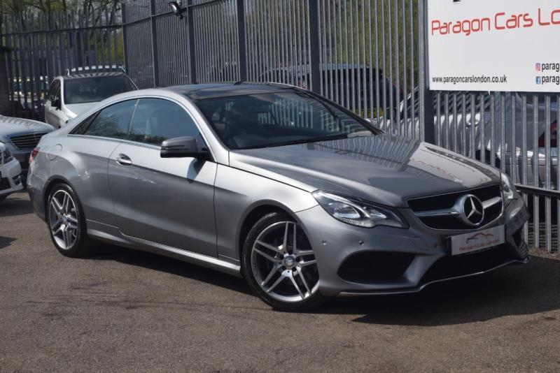 2013 Mercedes-Benz E Class E220 Coupe 2.1CDi 170 SS AMG Sport 7GT+ Diesel silver