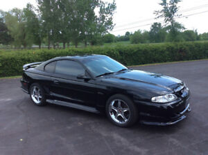 1997 Ford Mustang GT with supercharger