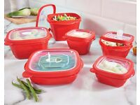 Storage Tubs With Vented Lids