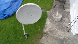 Satellite dish. on its own no mountings