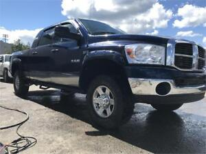 2008 MEGA CAB RAM 1500 4X4 LOTS OF ROOM AND NEW TIRES