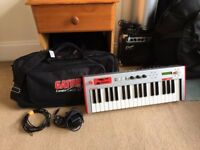 RARE Alesis Micron Synthesizer. Perfect Working Order!! + Gator Protective Carry Case + Power Cable