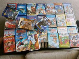 Massive bundle of kids dvds