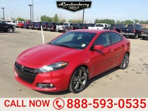 2015 Dodge Dart GT SEDAN Accident Free,  Leather,  Heated Seats,