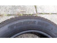 Tires 4x R18/60/225 Honda CRV
