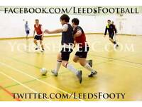5 a-side footballers wanted for casual game on Fridays at 6pm in central Leeds